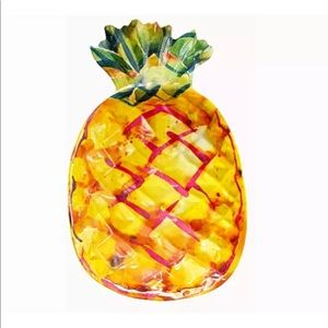 Tropical Pineapple Serving Bowl Mainstays
